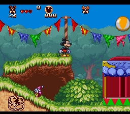 Great Circus Mystery Starring Mickey & Minnie, The (Europe) In game screenshot