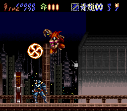 Hagane - The Final Conflict (Europe) In game screenshot