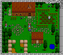 Herakles no Eikou III - Kamigami no Chinmoku (Japan) In game screenshot
