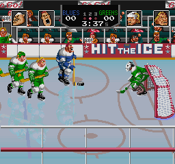 Hit the Ice (USA) In game screenshot