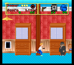 Home Alone (USA) In game screenshot