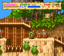 Hook (Europe) In game screenshot