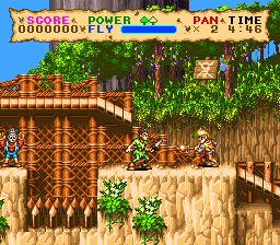 Hook (USA) In game screenshot
