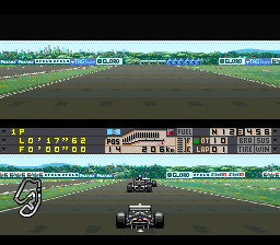 Human Grand Prix III - F1 Triple Battle (Japan) In game screenshot