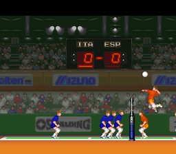 Hyper V-Ball (USA) In game screenshot