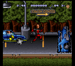 Incredible Crash Dummies, The (Japan) In game screenshot