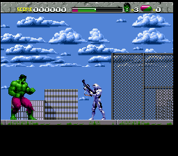 Incredible Hulk, The (USA) In game screenshot