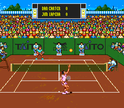 International Tennis Tour (USA) In game screenshot