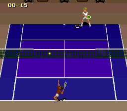 Jimmy Connors Pro Tennis Tour (Europe) In game screenshot