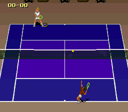 Jimmy Connors Pro Tennis Tour (Japan) In game screenshot