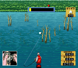 Jimmy Houston's Bass Tournament U.S.A. (USA) In game screenshot