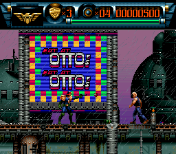Judge Dredd (Europe) In game screenshot