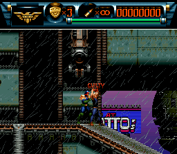 Judge Dredd (USA) (Sample) In game screenshot