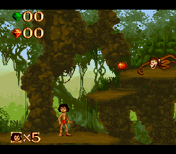 Jungle Book, The (USA) (Beta) In game screenshot
