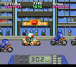 Kamen Rider SD - Shutsugeki!! Rider Machine (Japan) In game screenshot