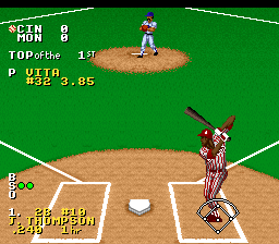 Ken Griffey Jr. Presents Major League Baseball (USA) In game screenshot