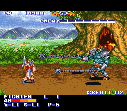 King of Dragons, The (USA) In game screenshot