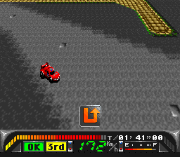 King of Rally, The (Japan) In game screenshot