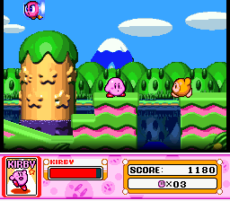 Kirby Super Star (USA) In game screenshot