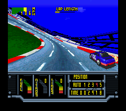 Kyle Petty's No Fear Racing (USA) In game screenshot