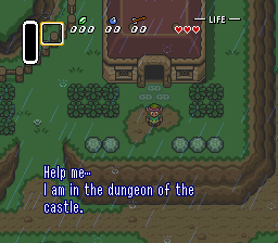 Legend of Zelda, The - A Link to the Past (Europe) In game screenshot