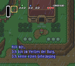 Legend of Zelda, The - A Link to the Past (Germany) In game screenshot
