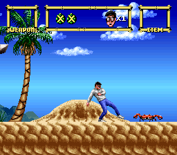 Lester the Unlikely (USA) In game screenshot