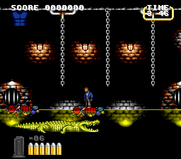 Lethal Weapon (Europe) In game screenshot