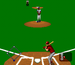 MLBPA Baseball (USA) In game screenshot