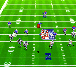 Madden NFL '94 (USA) In game screenshot