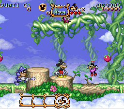 Magical Quest Starring Mickey Mouse, The (Italy) In game screenshot