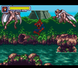 Marvel Super Heroes - War of the Gems (Japan) In game screenshot