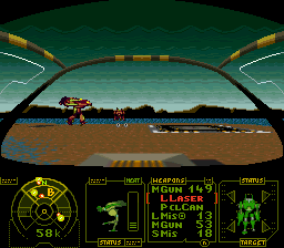 Mechwarrior (USA) In game screenshot