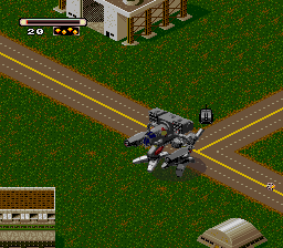Mechwarrior 3050 (Europe) In game screenshot
