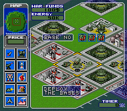 Metal Marines (Europe) In game screenshot