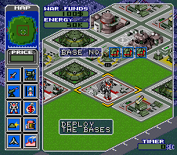 Metal Marines (USA) In game screenshot
