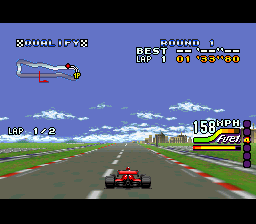 Michael Andretti's IndyCar Challenge (Japan) In game screenshot