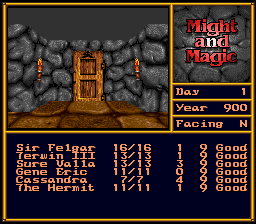 Might and Magic II - Gates to Another World (Europe) In game screenshot