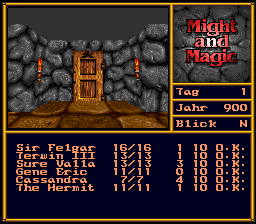 Might and Magic II - Gates to Another World (Germany) In game screenshot