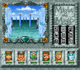 Might and Magic III - Isles of Terra (USA) (Beta) In game screenshot