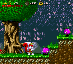 Mr Nutz (Japan) In game screenshot