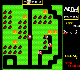 Mr. Do! (USA) In game screenshot