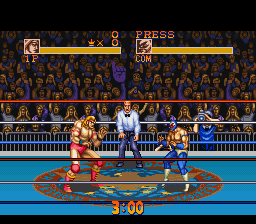 Muscle Bomber - The Body Explosion (Japan) In game screenshot