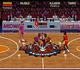 NBA Jam - Tournament Edition (Europe) In game screenshot