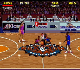 NBA Jam - Tournament Edition (USA) In game screenshot