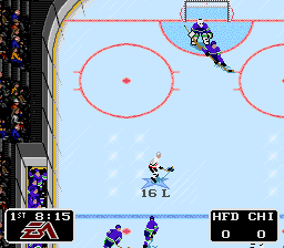 NHL '94 (Europe) In game screenshot