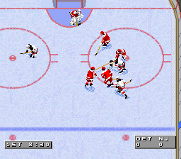 NHL '96 (USA) In game screenshot