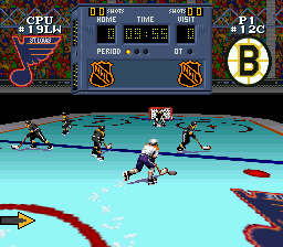 NHL Stanley Cup (USA) (En,Fr) In game screenshot