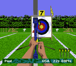 Olympic Summer Games (USA) In game screenshot