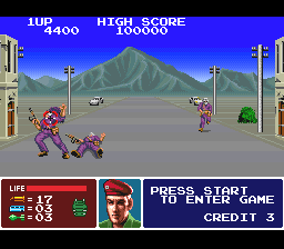 Operation Thunderbolt (USA) In game screenshot